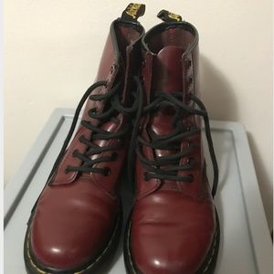 Dr. Martens 1460 Women's Cherry  Red Smooth